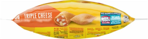 Totino's Triple Cheese Pizza Rolls Perspective: bottom