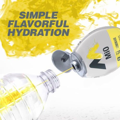 Mio Lemonade Liquid Water Enhancer Perspective: bottom