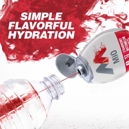 Mio Strawberry Watermelon Liquid Water Enhancer Perspective: bottom