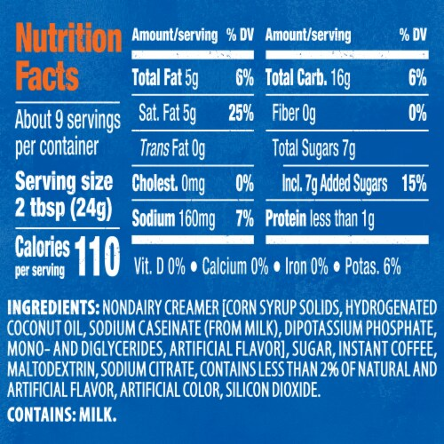Maxwell House International Francais Café-Style Beverage Mix Perspective: bottom