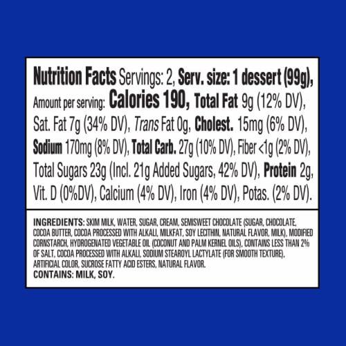 Colliders York Layered Peppermint & Dark Chocolate Refrigerated Dessert Perspective: bottom