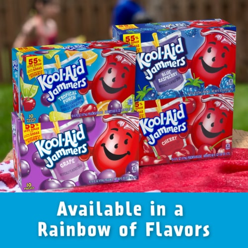 Kool-Aid Jammers Tropical Punch Flavored Drink Perspective: bottom