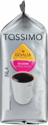 Tassimo Gevalia 15% Kona Coffee Blend T Discs Perspective: bottom
