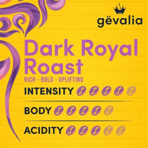 Gevalia Dark Royal Roast Coffee K-Cup Pods Perspective: bottom
