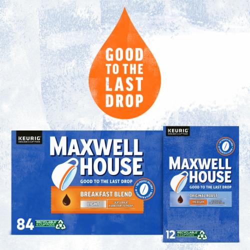 Maxwell House Original Medium Roast Coffee K-Cup Pods Perspective: bottom