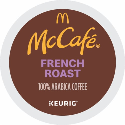McCafe Dark French Roast Coffee K-Cup Pods Perspective: bottom