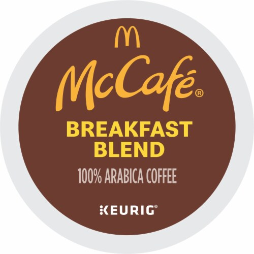 McCafe Breakfast Blend Light Roast Coffee K-Cup Pods Perspective: bottom