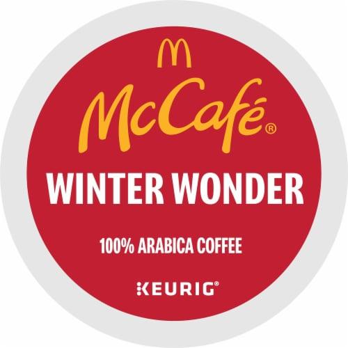McCafe Winter Wonder Medium Dark Coffee K-Cup Pods Perspective: bottom