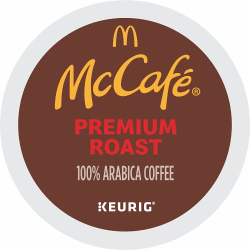 McCafe Premium Medium Roast Coffee K-Cup Pods Perspective: bottom