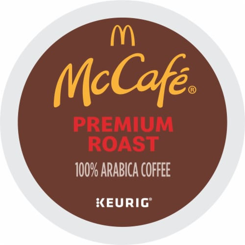 McCafe Premium Roast Medium Coffee K-Cup Pods Value Pack Perspective: bottom