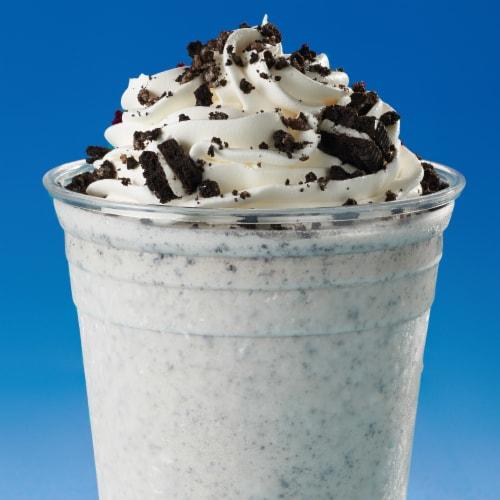 Oreo Double Stuf Chocolate Sandwich Cookies Perspective: bottom