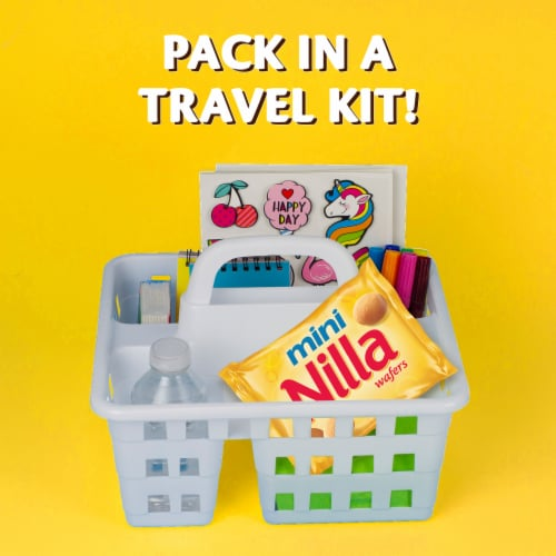 Nilla Wafers Mini Vanilla Wafer Cookies Perspective: bottom