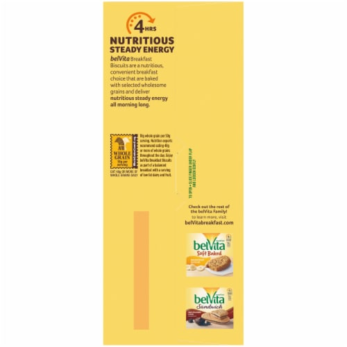 belVita Blueberry Breakfast Biscuits Value Pack 12 Count Perspective: bottom