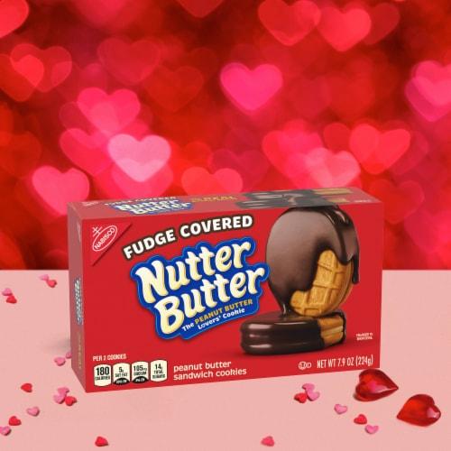Nutter Butter Fudge Covered Peanut Butter Sandwich Cookies Perspective: bottom
