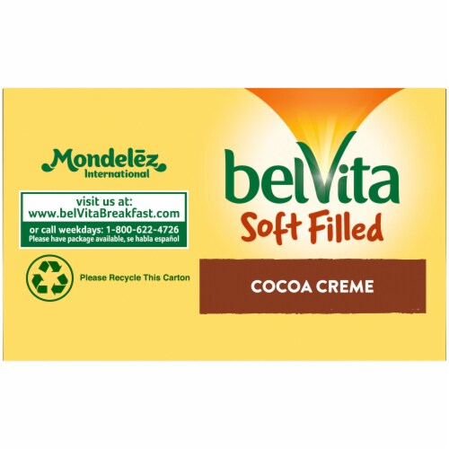 belVita Soft Filled Cocoa Creme Baked Biscuits Perspective: bottom