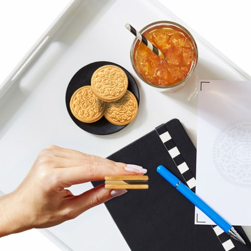 Oreo Chocolate Peanut Butter Pie Sandwich Cookies Family Size Perspective: bottom