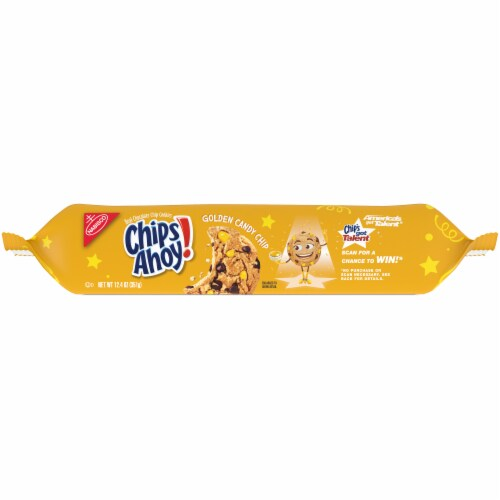Chips Ahoy! Golden Candy Chip Cookies Perspective: bottom