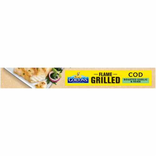 Gorton's Natural Catch Roasted Garlic & Herb Grilled Cod Fillets Perspective: bottom