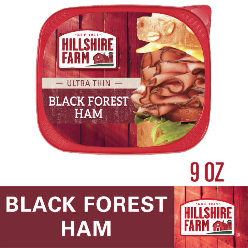 Hillshire Farm Ultra Thin Sliced Black Forest Ham Lunchmeat Perspective: bottom