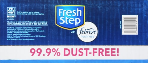 Fresh Step Extreme with Febreze Freshness Clumping Cat Litter Perspective: bottom
