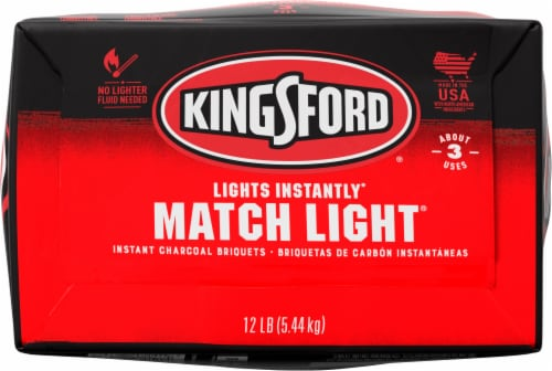 Kingsford Match Light Instant Charcoal Briquets Perspective: bottom
