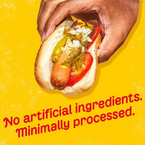 Oscar Mayer™ Selects Natural Angus Beef Franks Perspective: bottom