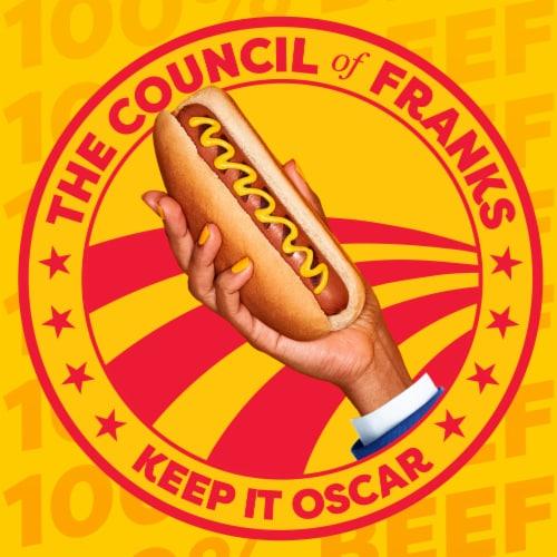 Oscar Mayer™ Bun-Length Angus Beef Uncured Franks Perspective: bottom