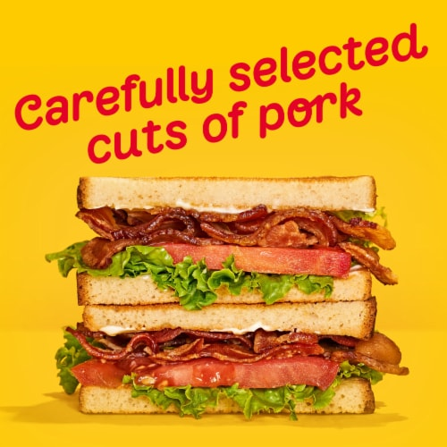 Oscar Mayer Fully Cooked Thick Cut Maple Bacon Perspective: bottom
