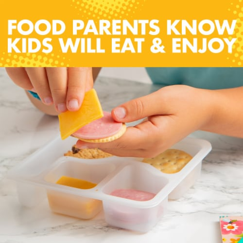 Lunchables Ham & American Cheese Cracker Stackers Snack Kit with Chocolate Sandwich Cookies Perspective: bottom