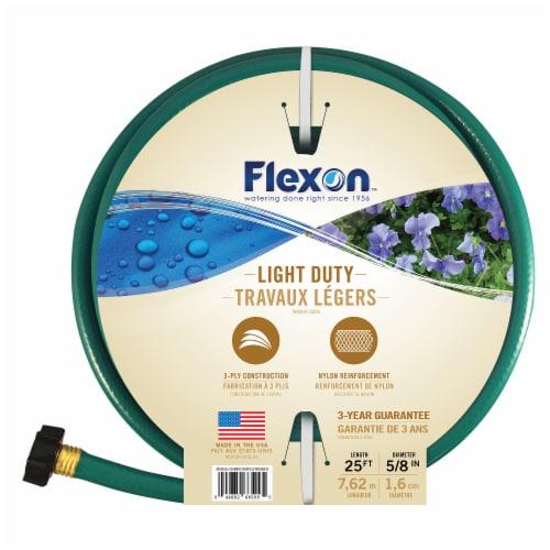 Flexon 5/8 x 25ft Light Duty Garden Hose Perspective: bottom