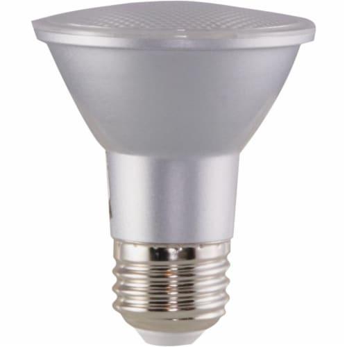 Satco 50W Equivalent Soft White PAR20 Medium Dimmable LED Floodlight Light Bulb Perspective: bottom