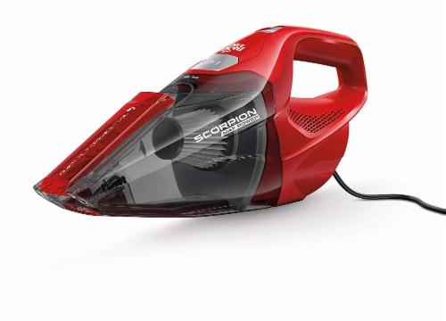 Dirt Devil Scorpion Quick Flip Handheld Vacuum Cleaner - Red Perspective: bottom