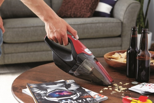 Dirt Devil Quick Flip Plus Handheld Vacuum Cleaner - Red/Black Perspective: bottom