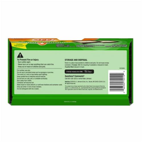 OFF! 8 Oz. 1-Wick Mini Citronella Candle (2-Pack) 72010 Perspective: bottom