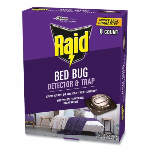 Raid® Bed Bug Detector and Trap Perspective: bottom