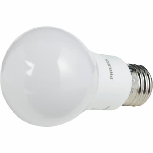 Philips 60W Equivalent Soft White A19 Medium LED Light Bulb (6-Pack) 469205 Perspective: bottom
