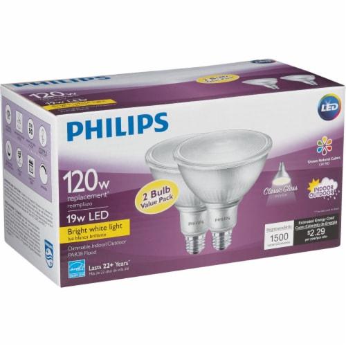 Philips 19wpar38 Bw T20 Led Bulb 532507 Perspective: bottom