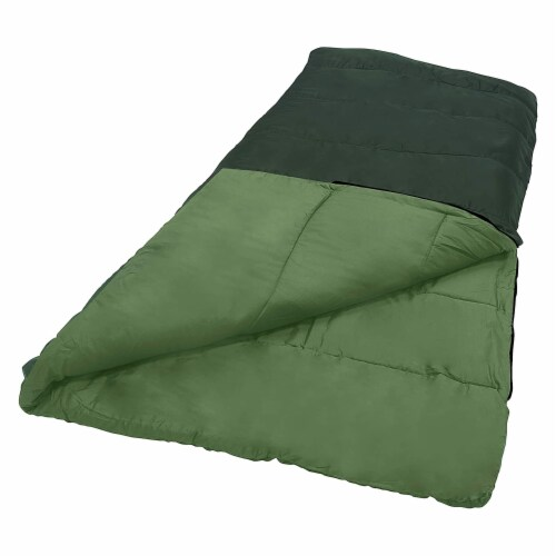 Wenzel Cascade 40 to 50 Degree Fahrenheit Camping Sleeping Bag, Adult (Green) Perspective: bottom