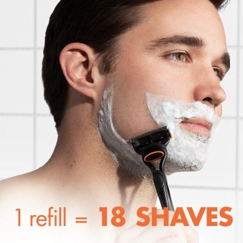 Gillette Fusion5 Men's Razor Blade Refill Cartridges Perspective: bottom