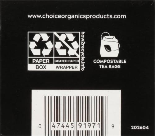 Choice Organics™ Earl Grey Tea Bags Perspective: bottom