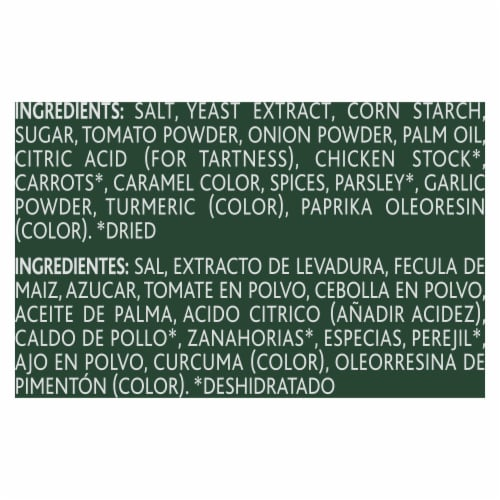 Knorr Selects Chicken Tomato Flavor Bouillon Perspective: bottom