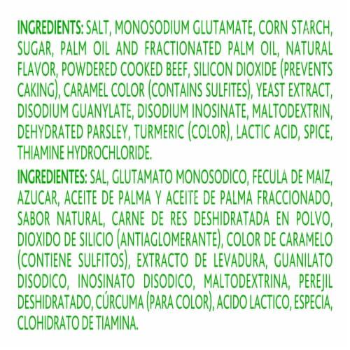 Knorr Beef Flavor Boullion Perspective: bottom