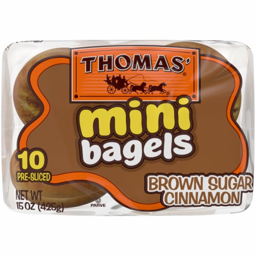 Thomas' Brown Sugar Cinnamon Mini Bagels Perspective: bottom