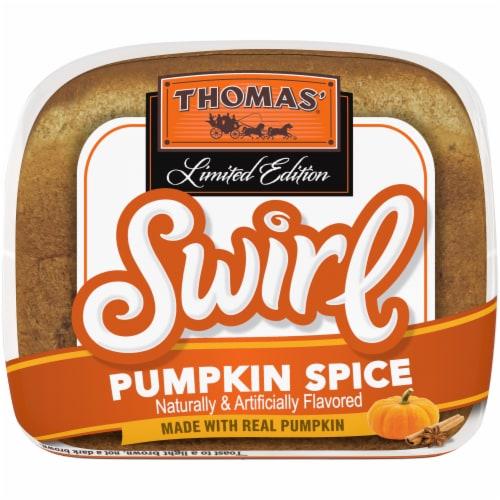 Thomas'® Limited Edition Pumpkin Spice Swirl Bread Perspective: bottom