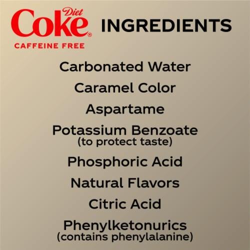 Diet Coke Caffeine Free Soda Perspective: bottom