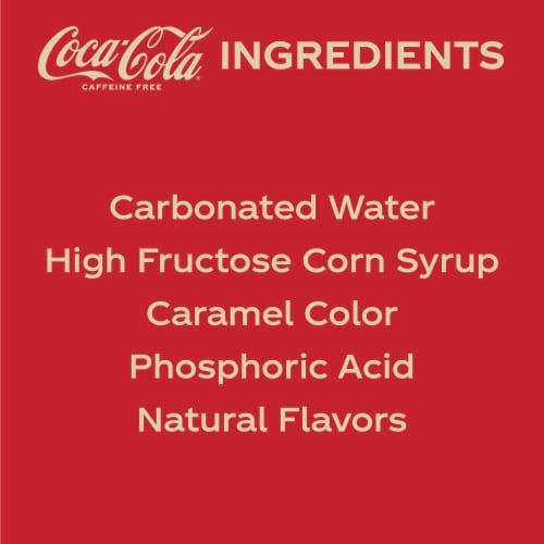 Coca-Cola Caffeine Free Soda Perspective: bottom