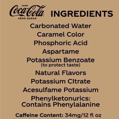 Coca-Cola® Vanilla Zero Sugar Soda Perspective: bottom