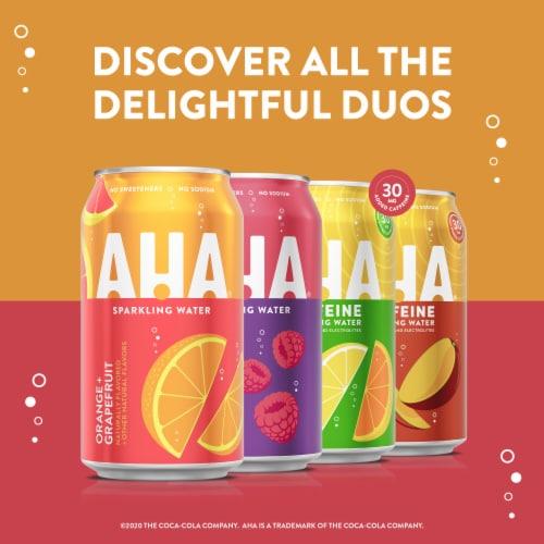AHA Peach + Honey Sparkling Water Perspective: bottom