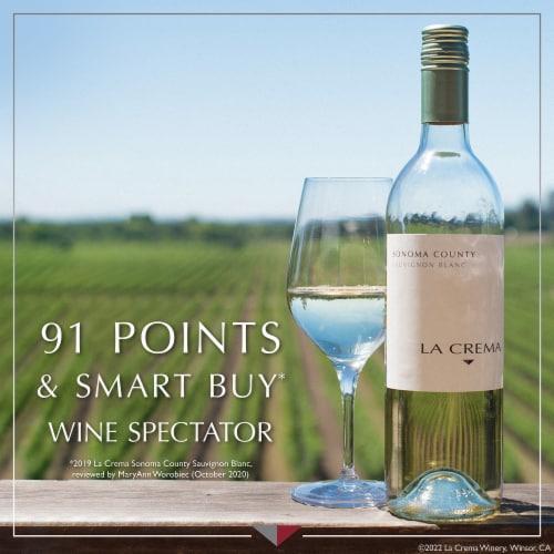 La Crema Sonoma County Sauvignon Blanc White Wine Perspective: bottom