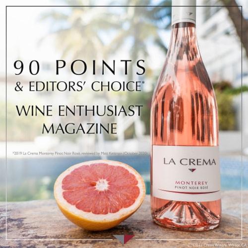 La Crema Monterey Pinot Noir Rose Wine Perspective: bottom